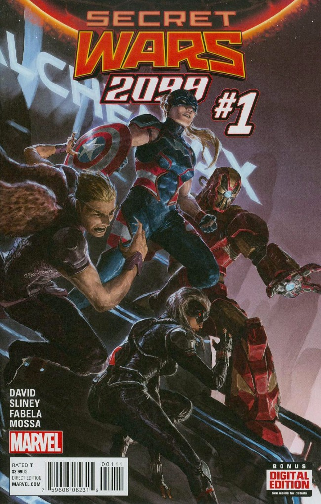 Couverture de Secret Wars 2099 (2015) -1- Issue #1