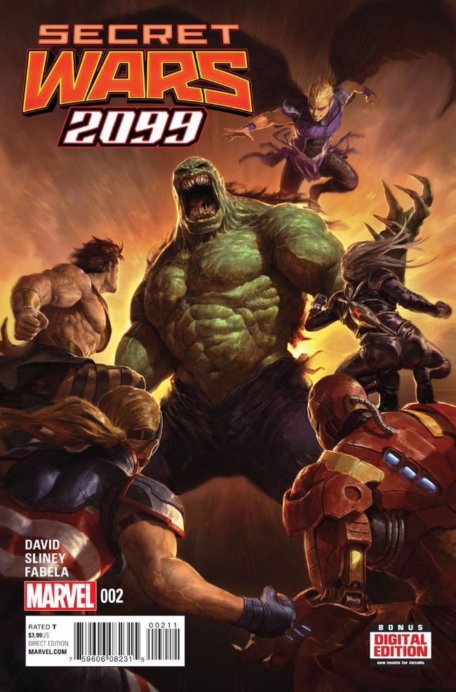 Couverture de Secret Wars 2099 (2015) -2- Issue #2