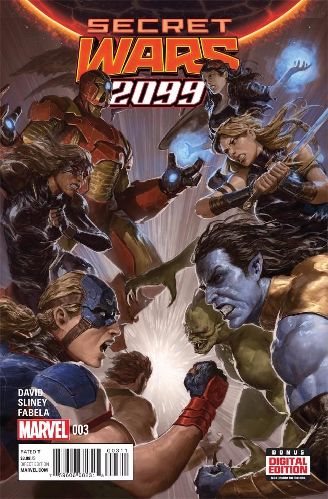 Couverture de Secret Wars 2099 (2015) -3- Issue #3