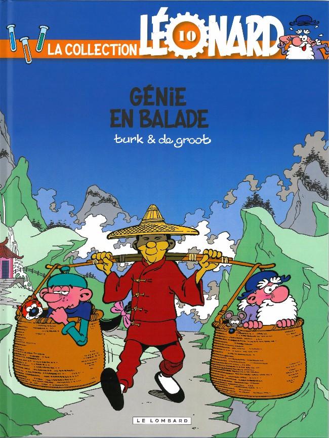 Couverture de Léonard - La Collection (Prisma Media) -106- Génie en balade