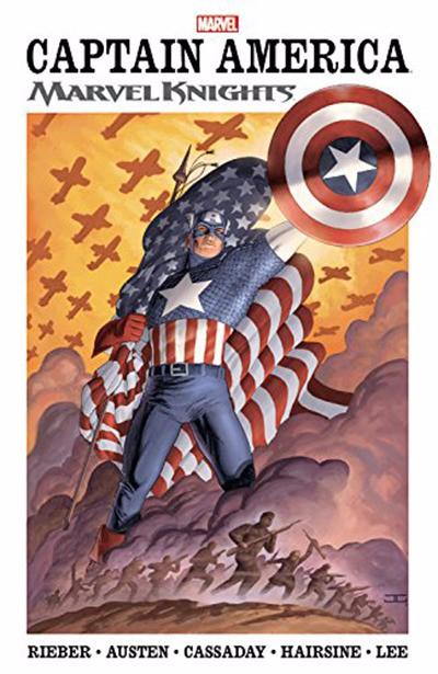 Couverture de Captain America (2002) -INTC01- Marvel Knights volume 1