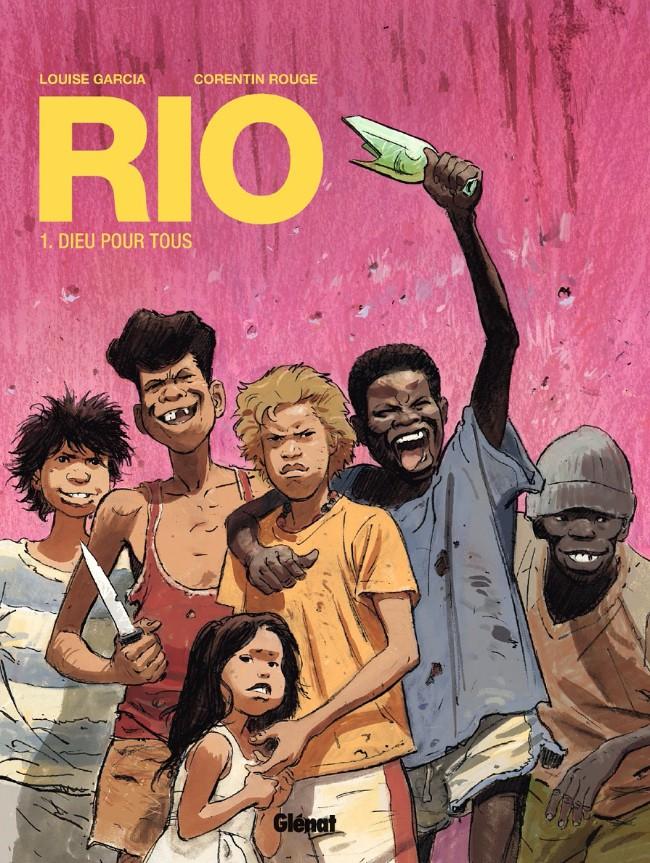 Couverture de Rio (Rouge/Garcia) -1- Dieu pour tous