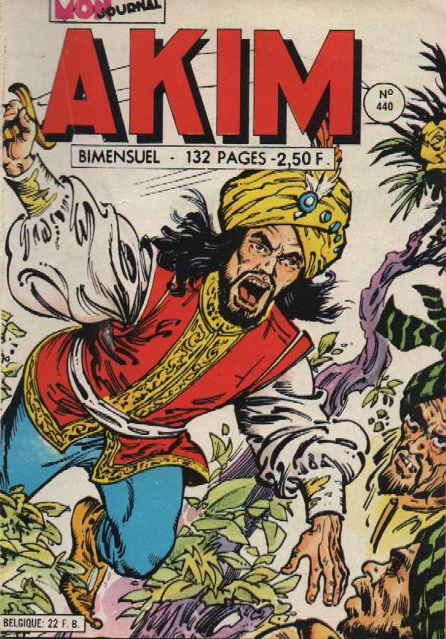 Couverture de Akim (1re série) -440- Tel est pris qui croyait prendre
