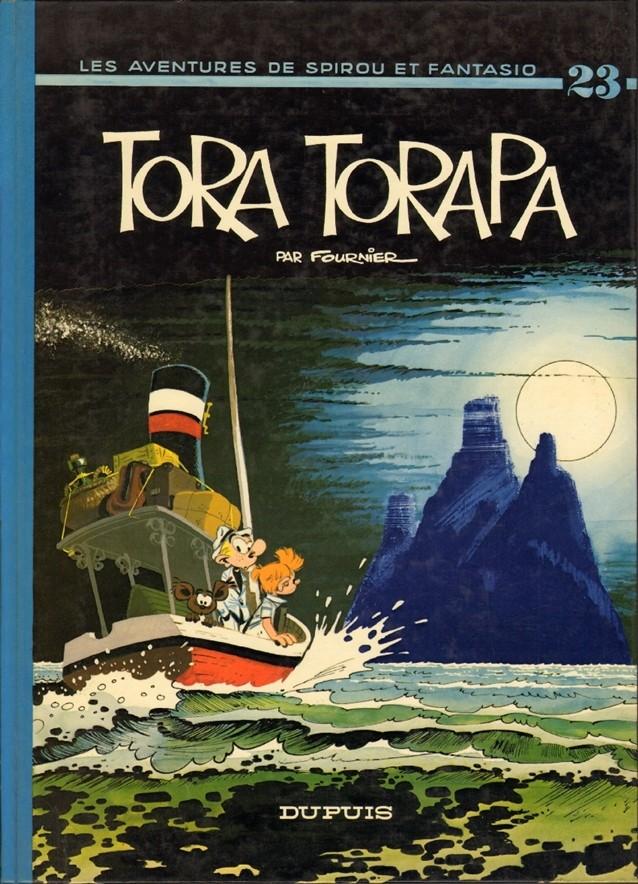 Couverture de Spirou et Fantasio -23- Tora Torapa