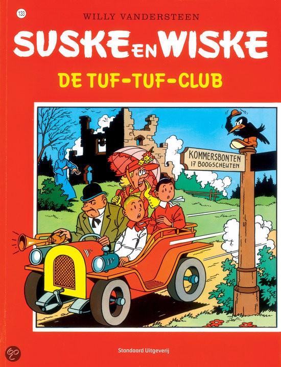 Couverture de Suske en Wiske -133- De tuf-tuf-club