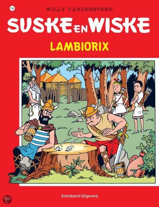Couverture de Suske en Wiske -144- Lambiorix