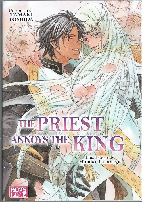 Couverture de Priest & King -4- The Priest Annoys The King