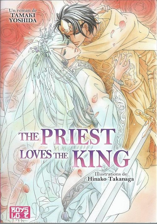 Couverture de Priest & King -3- The Priest Loves The King