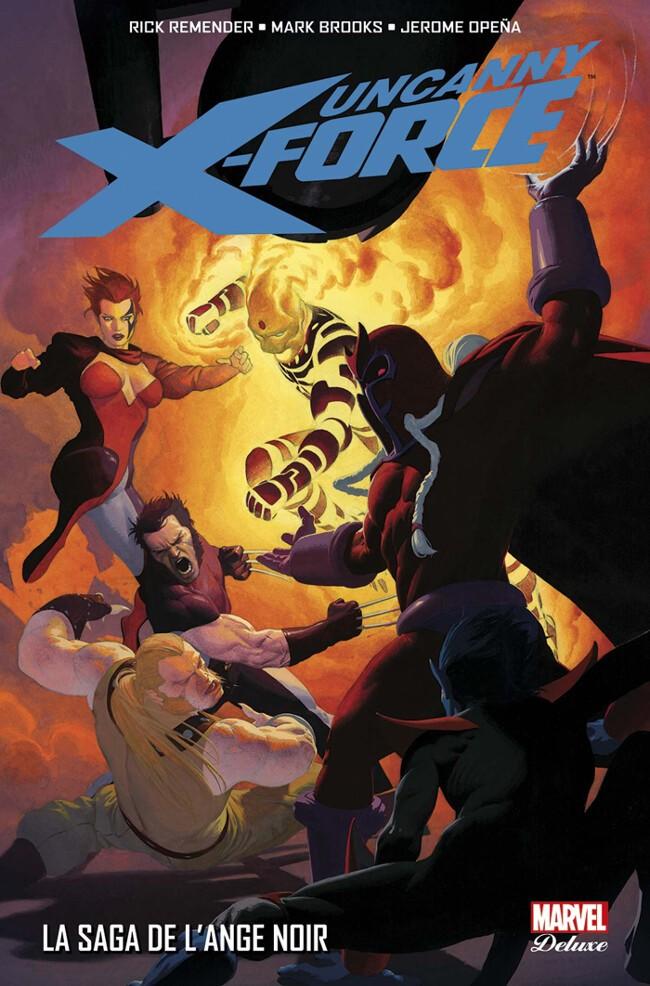 Couverture de Uncanny X-Force -2- La Saga de l'Ange Noir