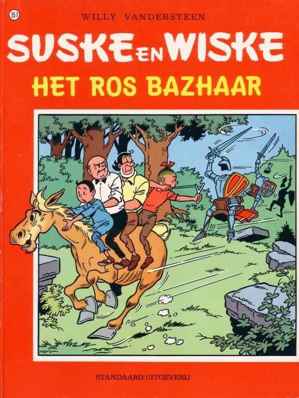 Couverture de Suske en Wiske -151- Het ros Bazhaar