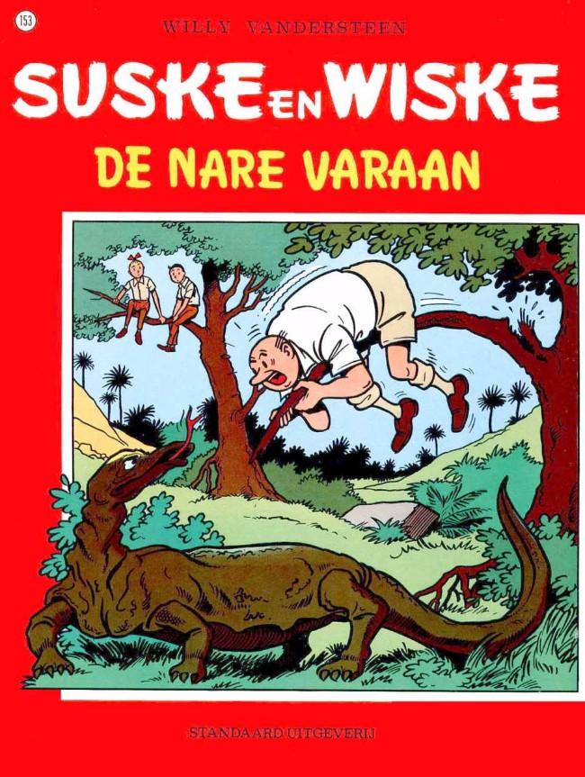 Couverture de Suske en Wiske -153- De nare varaan