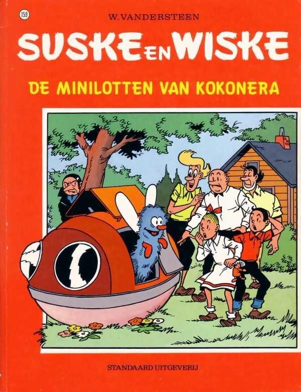 Couverture de Suske en Wiske -159- Minilotten van Kokonera