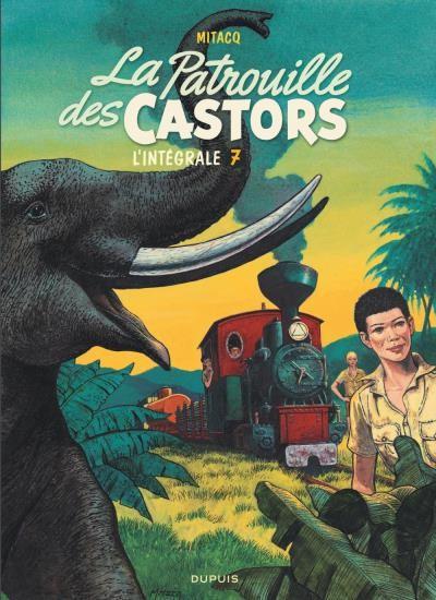 Couverture de La patrouille des Castors -INT7- L'intégrale 7 (1984-1989)