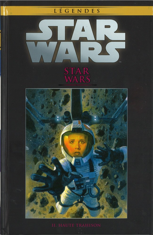 Couverture de Star Wars - Légendes - La Collection (Hachette) -1255- Star Wars - II. Haute trahison