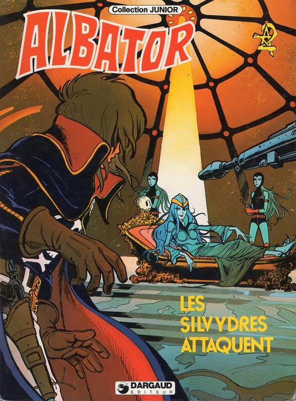 Couverture de Albator (Collection Junior) -5- Les silvydres attaquent