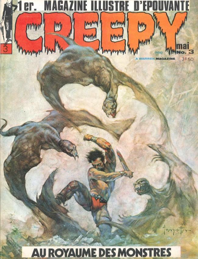 Couverture de Creepy (Publicness) -3- Au royaume des monstres