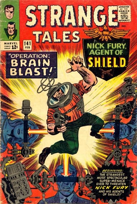 Couverture de Strange Tales (Marvel - 1951) -141- Operation: Brain Blast!