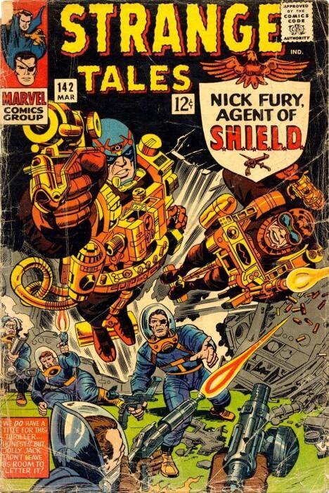Couverture de Strange Tales (1951) -142- Nick Fury agent of S.H.I.E.L.D