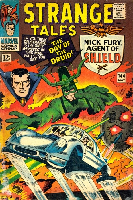 Couverture de Strange Tales (Marvel - 1951) -144- The Day of the Druid!
