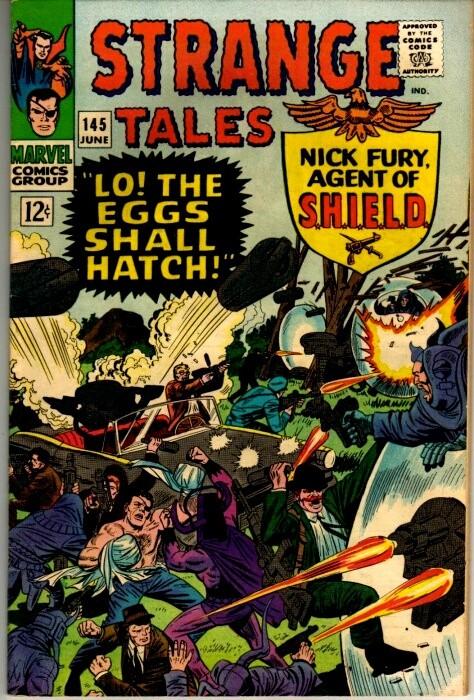 Couverture de Strange Tales (Marvel - 1951) -145- Lo! The Eggs Shall Hatch!