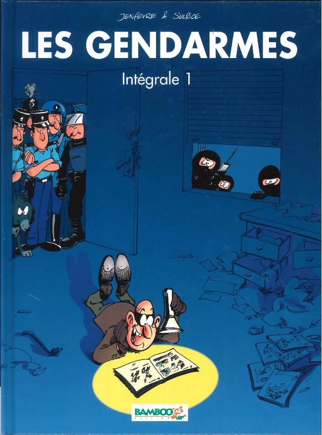 Couverture de Les gendarmes (Jenfèvre) -INT01- Intégrale 1