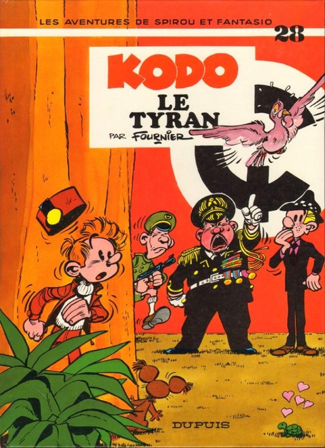 Couverture de Spirou et Fantasio -28- Kodo le tyran