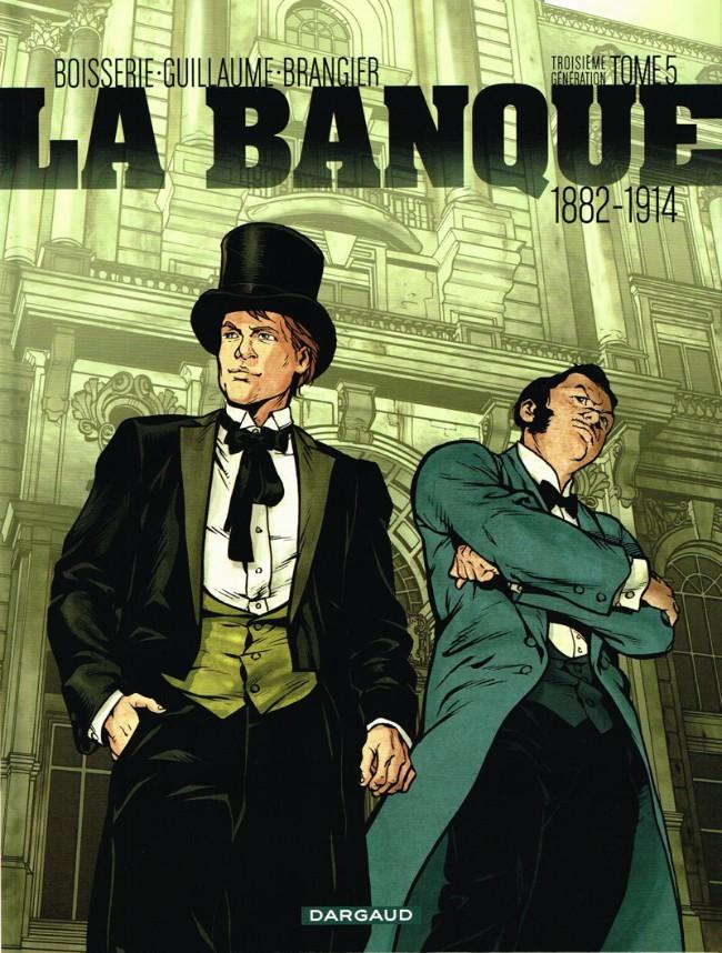 Couverture de La banque -5- Troisième génération 1882-1914 : Les Chéquards de Panama