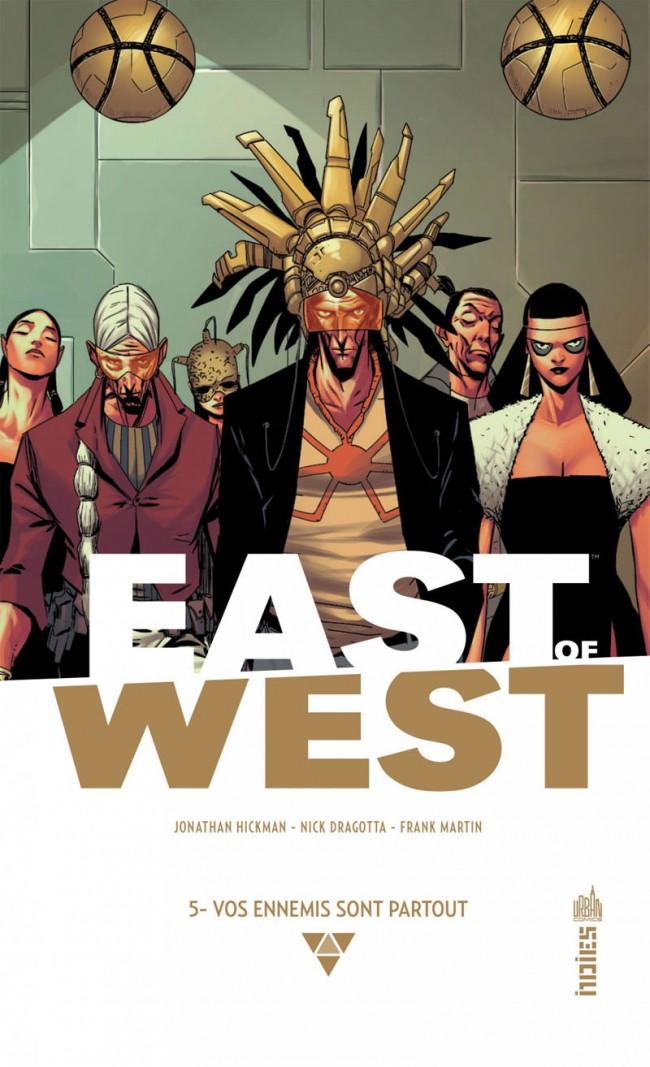 Couverture de East of West -5- Vos ennemis sont partout
