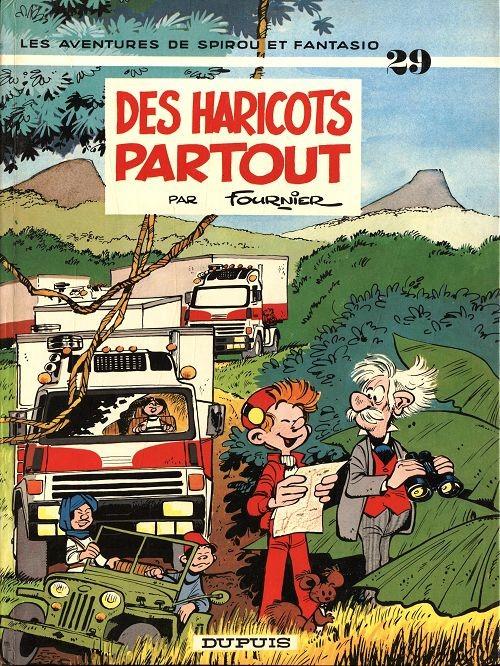 Couverture de Spirou et Fantasio -29- Des haricots partout