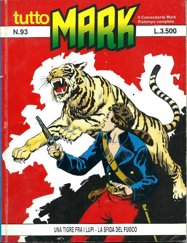Couverture de Mark (Tutto) -93- Una tigre fra i lupi