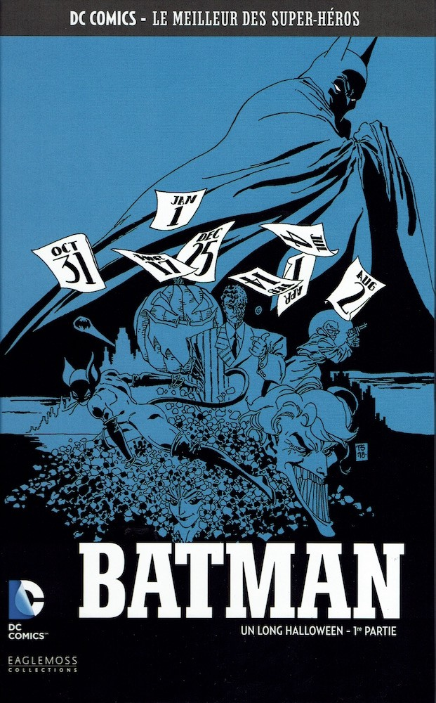 Couverture de DC Comics - Le Meilleur des Super-Héros -16- Batman - Un long Halloween - 1re partie