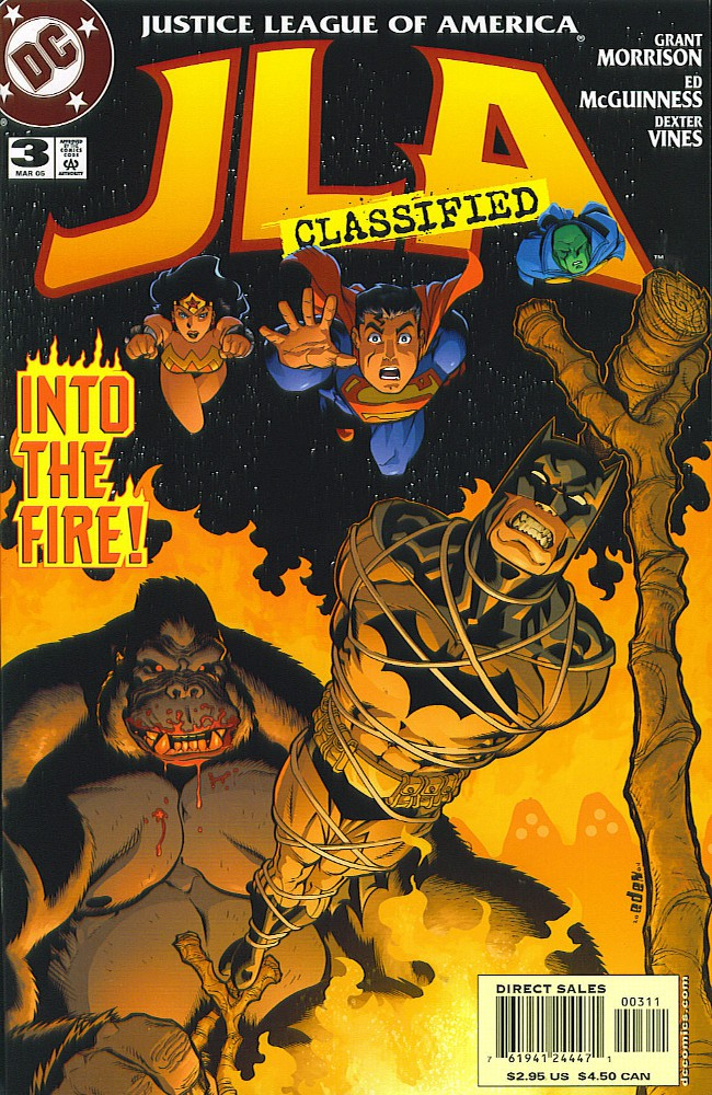 Couverture de JLA: Classified (DC comics - 2005) -3- Seconds to Go