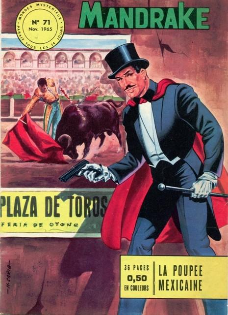 Couverture de Mandrake (1re Série - Remparts) (Mondes Mystérieux - 1) -71- La poupée mexicaine