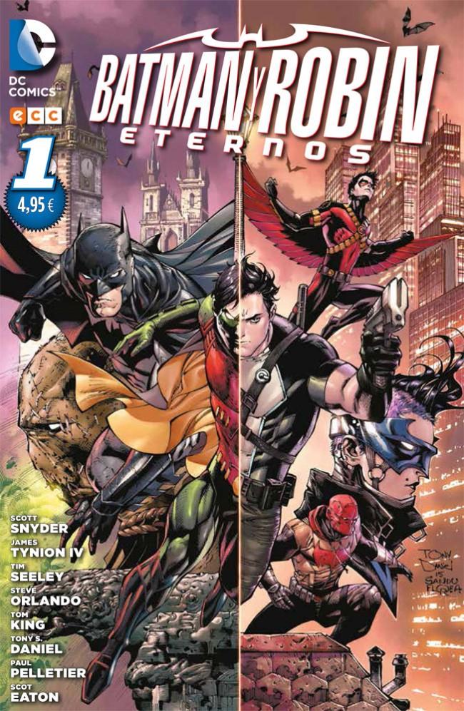 Couverture de Batman y Robin Eternos -1- Batman y Robin eternos núm. 01