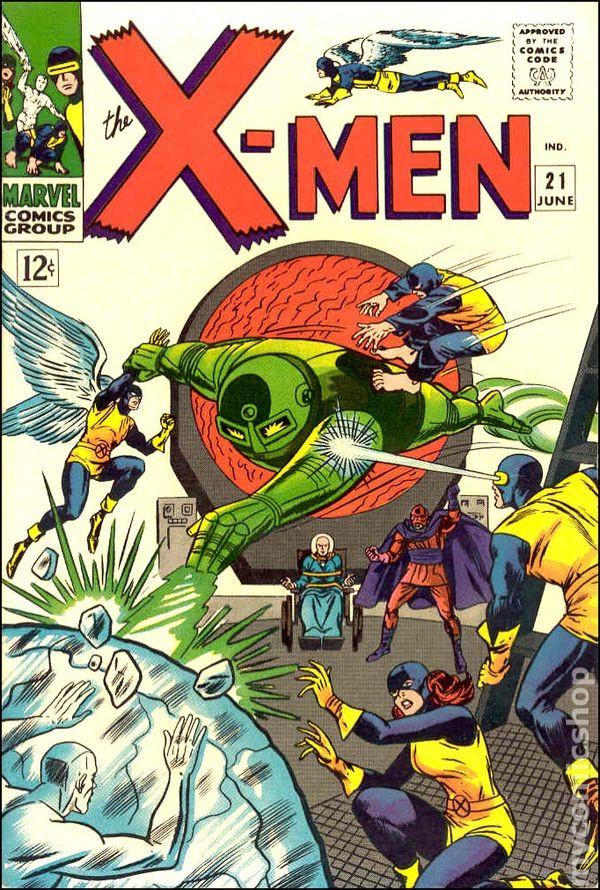 Couverture de Uncanny X-Men (The) (1963) -21- From Whence Comes ... Dominus ?