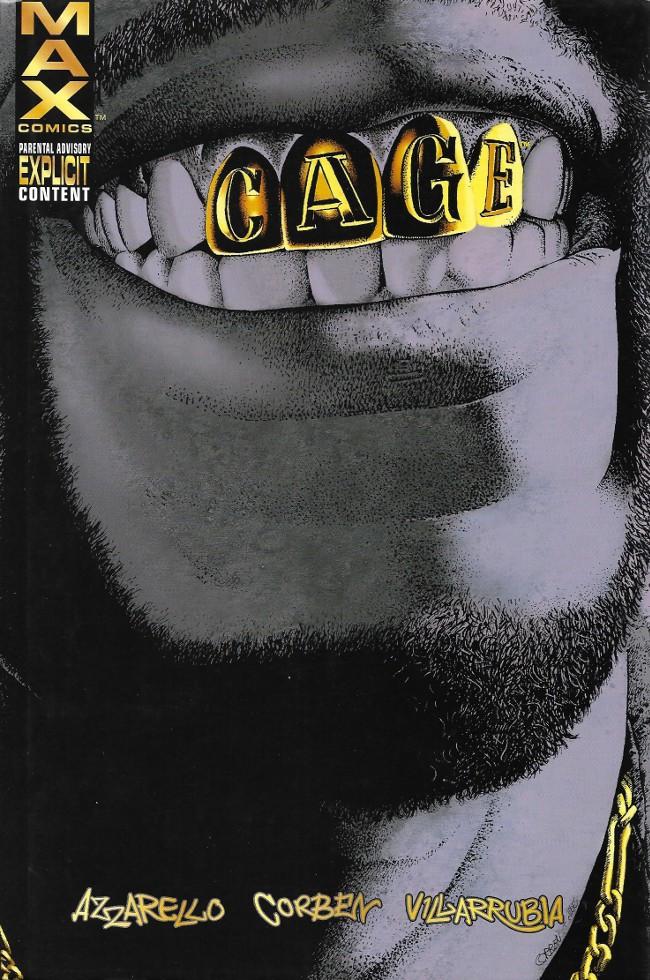 Couverture de Cage Vol. 2 (Marvel MAX - 2002) -INT- Cage