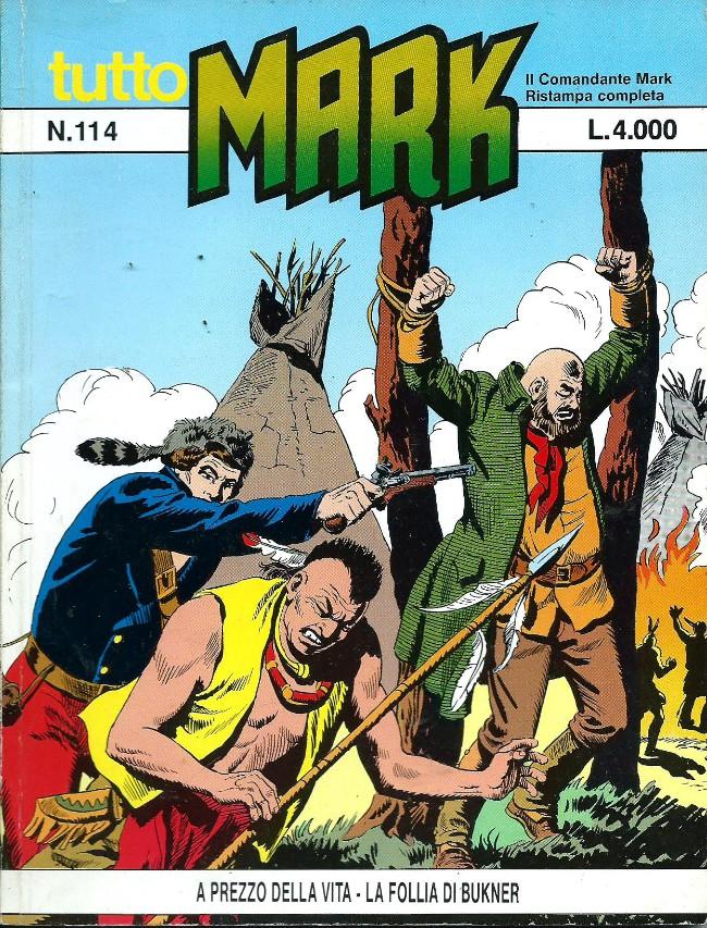 Couverture de Mark (Tutto) -114- A prezzo della vita