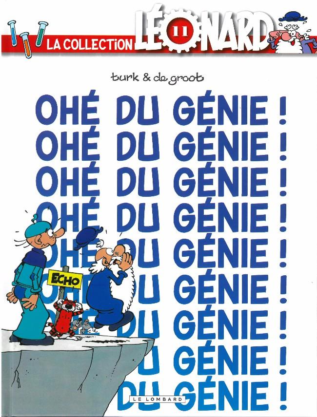 Couverture de Léonard - La Collection (Prisma Media) -1117- Ohé du génie !