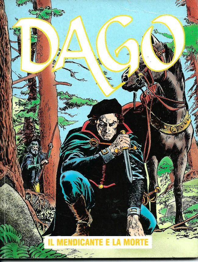 Couverture de Dago (en italien) -5- Il mendicante e la morte