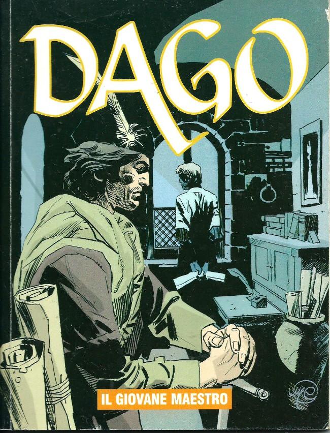 Couverture de Dago (en italien) -12- Il giovane maestro