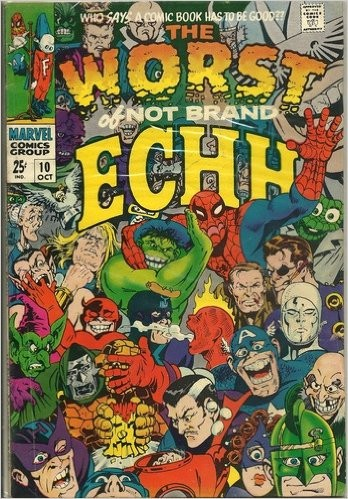 Couverture de Not Brand Echh (1967) -10- The Worst of Not Brand Echh