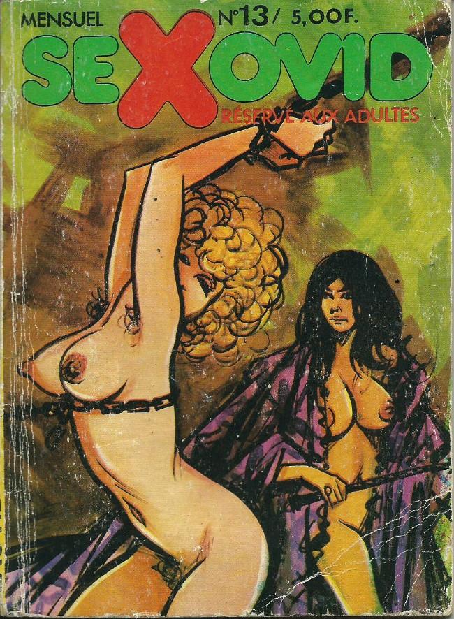 Couverture de Sexovid -13- Madame Sade