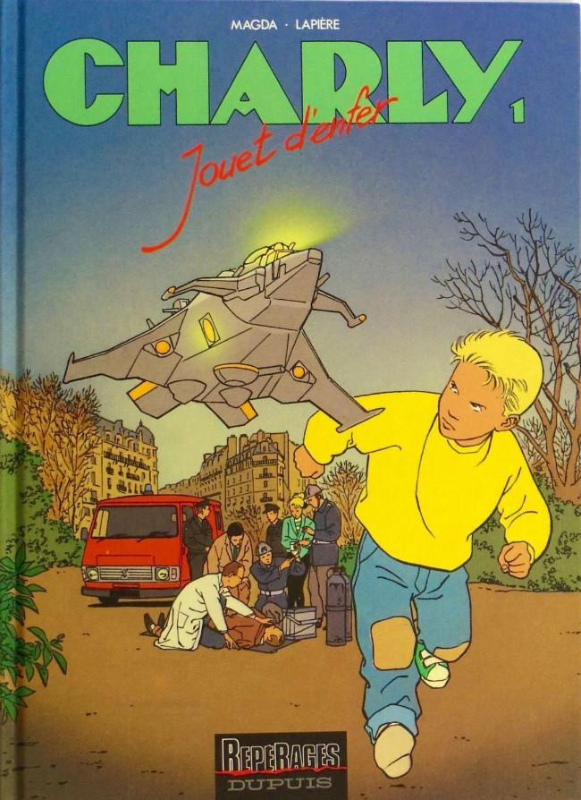 Couverture de Charly -1- Jouet d'enfer