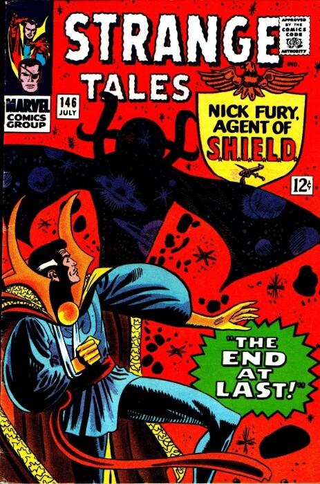 Couverture de Strange Tales (Marvel - 1951) -146- The End at Last!