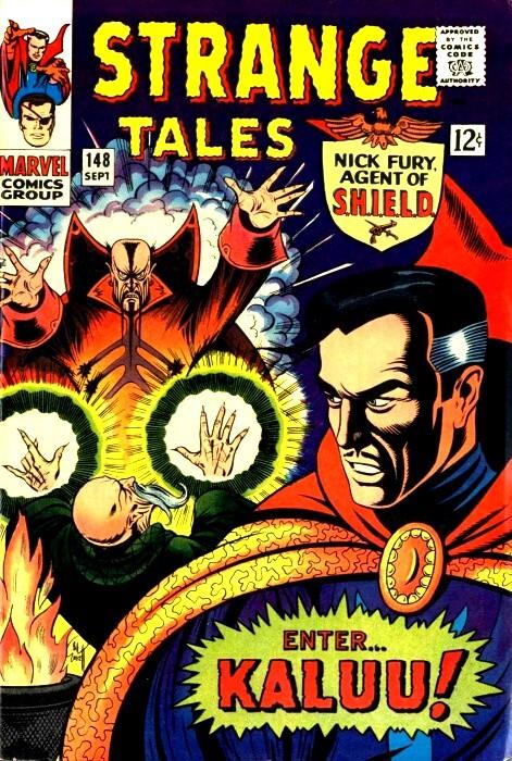 Couverture de Strange Tales (Marvel - 1951) -148- Enter...Kaluu!
