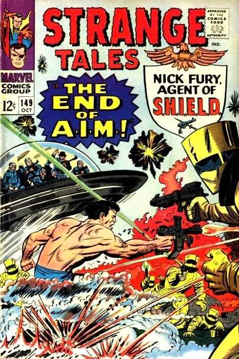 Couverture de Strange Tales (1951) -149- The End of A.I.M.!
