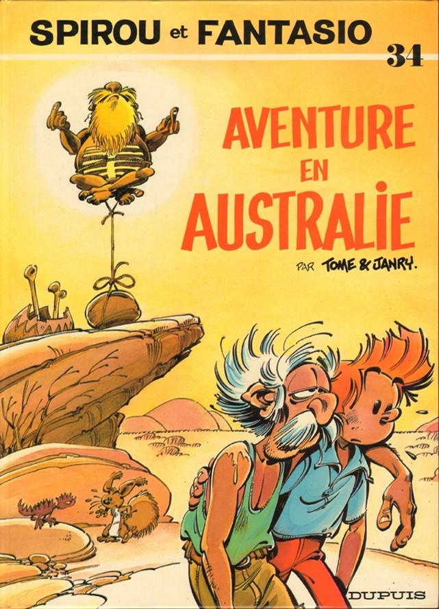 Couverture de Spirou et Fantasio -34- Aventure en Australie