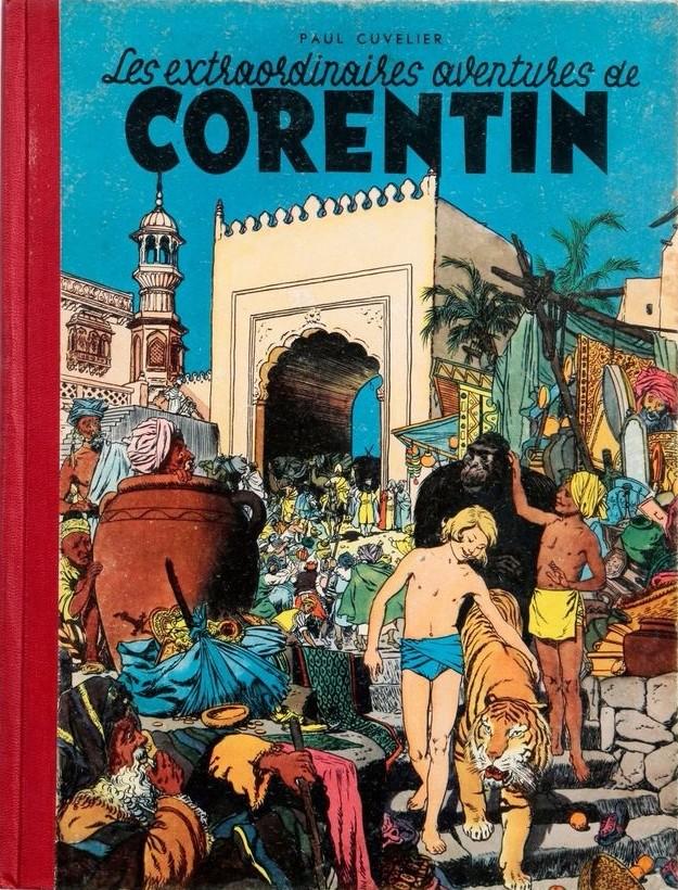 Couverture de Corentin (Cuvelier) -1- Les extraordinaires aventures de Corentin