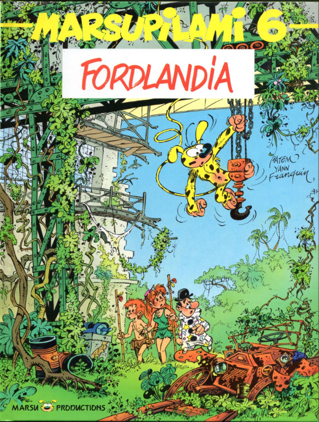 Couverture de Marsupilami -6- Fordlandia