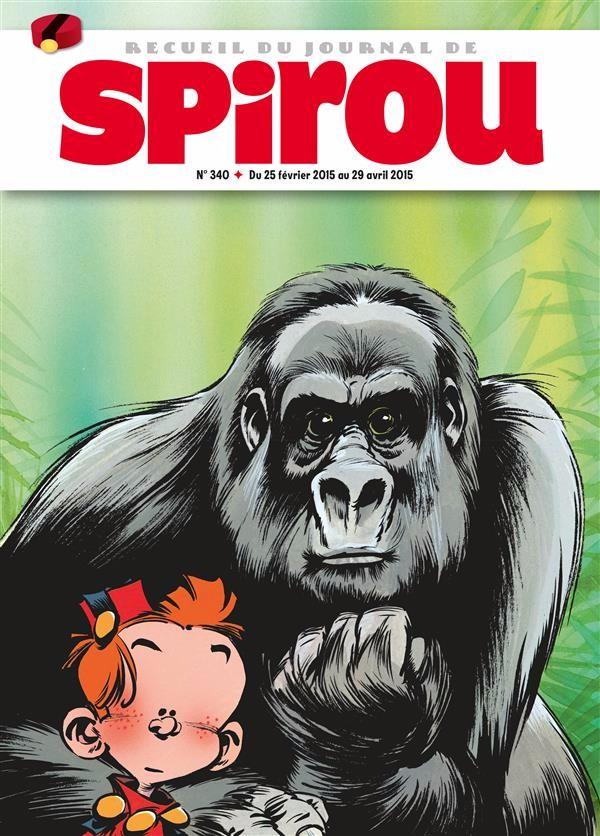 Couverture de (Recueil) Spirou (Album du journal) -340- Spirou album du journal